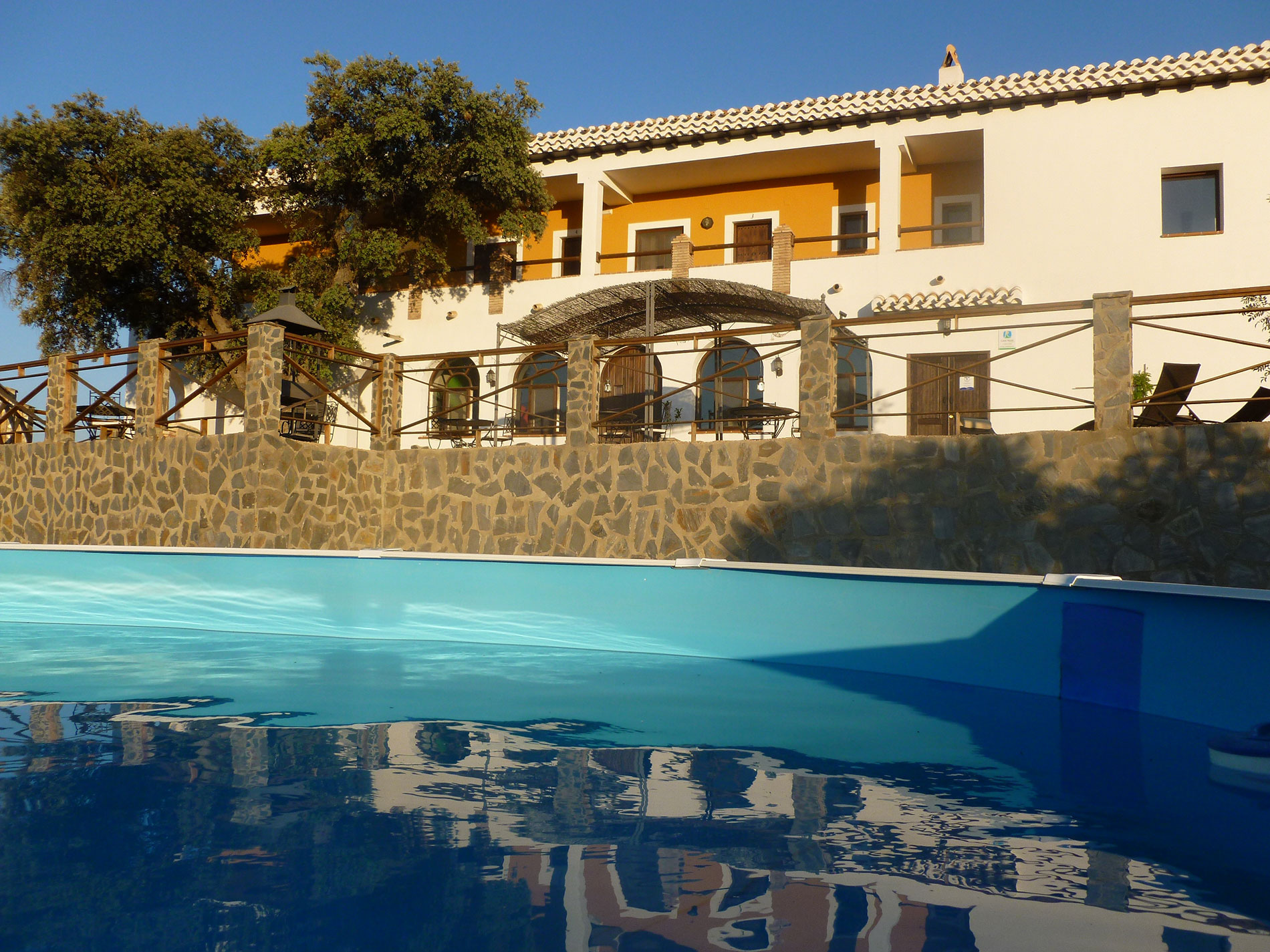 Pool, swimming pool,Eco Hotel family activity holiday andalusia spain, Responsible travel