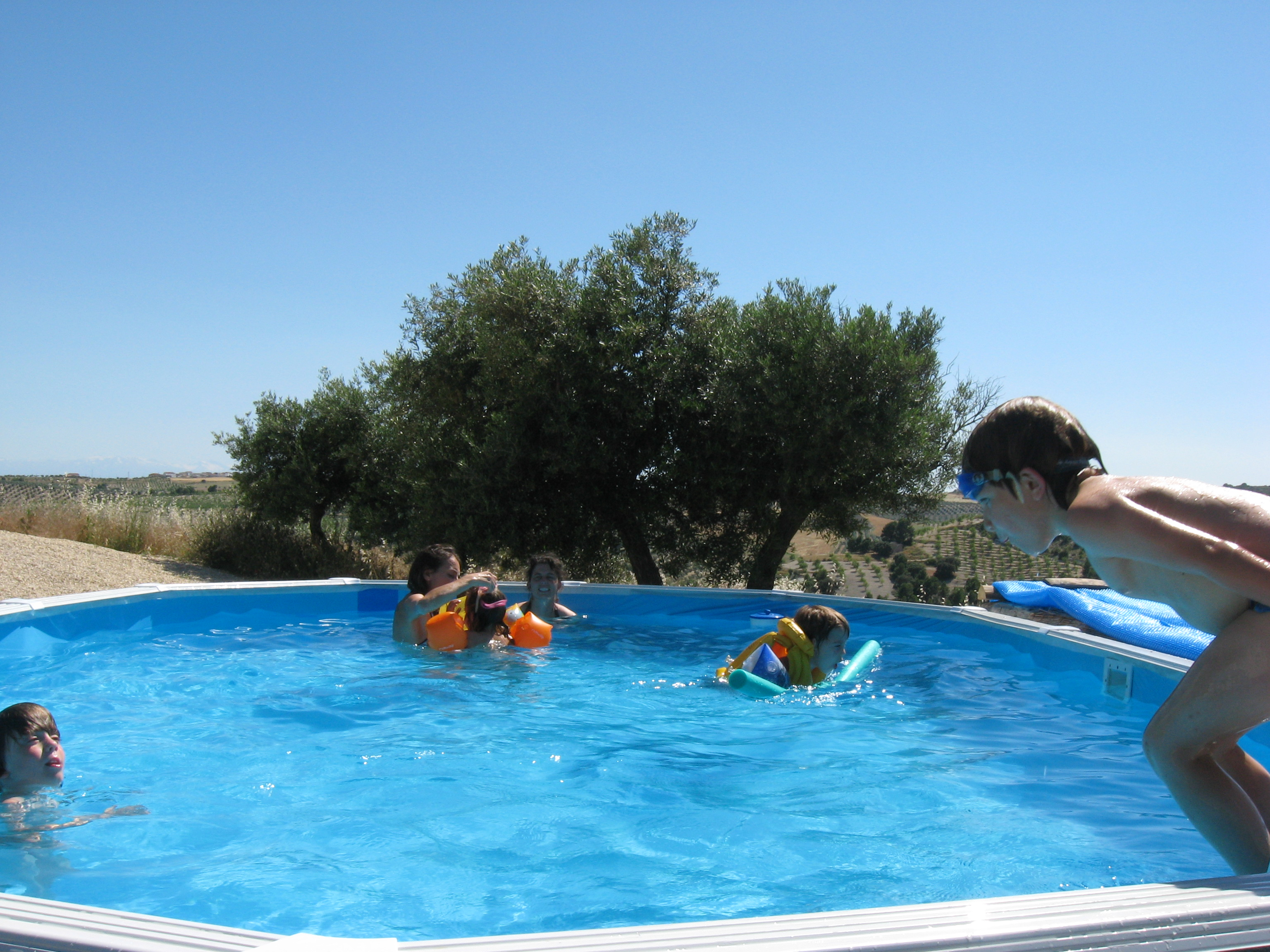 Pool, swimming pool,Eco Hotel family activity holiday andalusia,andalucia spain, Responsible travel