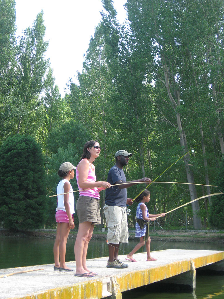 Trout fishing andalusia, Trout fishing andalucia,family activity holiday andalusia spain,responsible travel