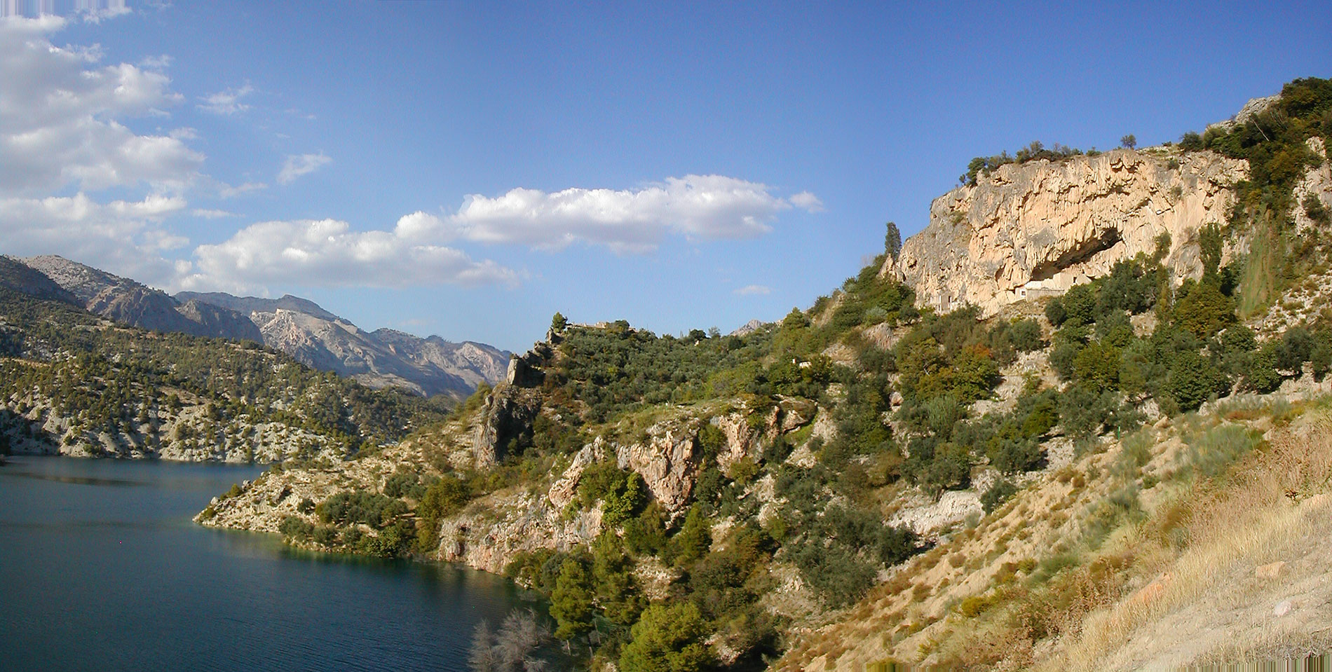 castril river, Castril lake, Castril Natural park,family activity holiday andalusia spain, Responsible travel