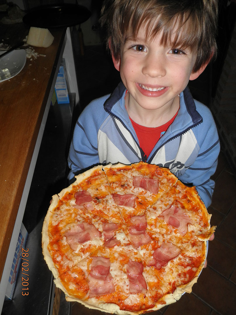 pizza making,kids activity,Andalusia food,family activity holiday andalusia spain, Responsible travel