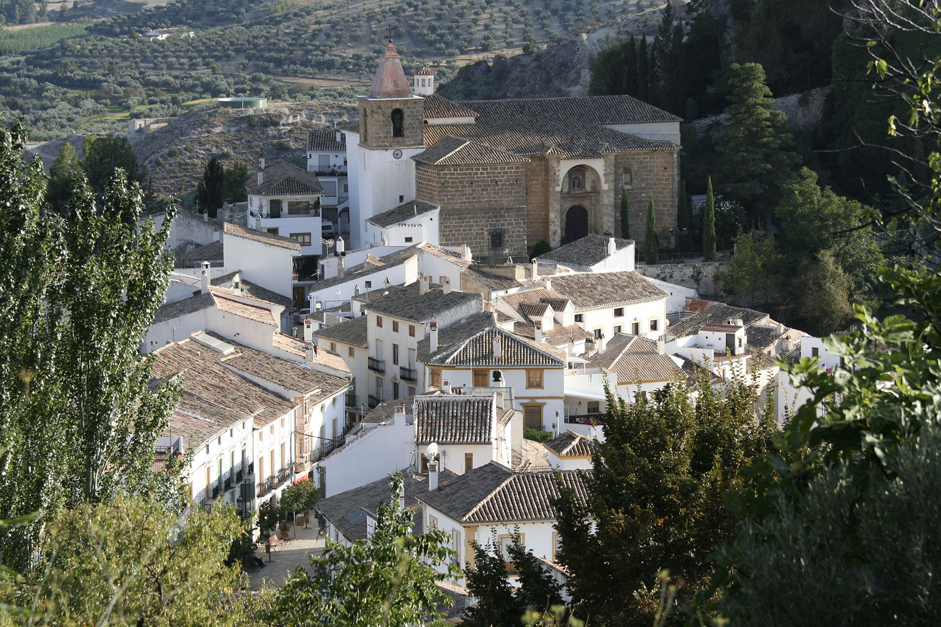 castril church,castril centre,Castril lake, Castril Natural park,family activity holiday andalusia spain, Responsible travel